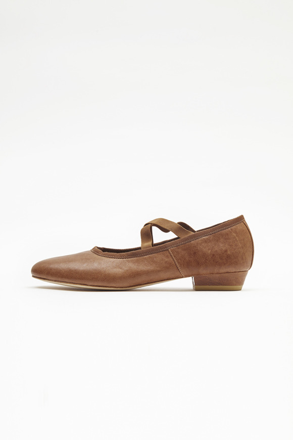 Caramel Brown Ballet Flat